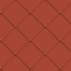 DACORA-CEDRAL čtverec 400x400 mm červená
