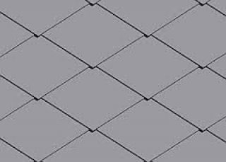 DACORA-CEDRAL čtverec 400x400 mm šedá
