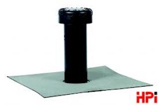 HPI-Komínek větrací FLAVENT Bitumen DN 100-plochá střecha