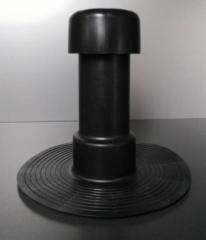 HPI-Komínek větrací ploché střechy Dutral 120/100mm-odvětrání podstřeší
