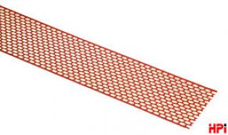 HPI-Pás proti ptákům AL 80mm-červený/hnědý d=5m role
