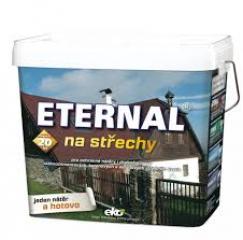 ETERNAL na střechy 309-hnědá - 10kg