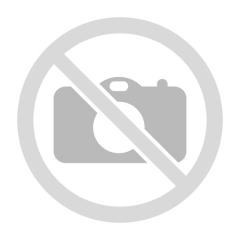 Větrací pás hřebene/kartáč/100cm-černý