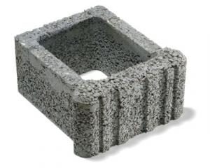Ještědský kámen svahová tvarovka šedá semmelrock