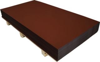 AL-tabule 0,6x1000x2000-3011-tmavě červená+folie