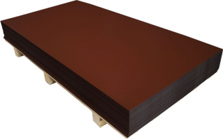 AL-tabule 0,6x1000x2000-3016-korál.červená+folie